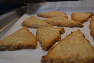 Deirdre&#x27;s Coconut and sesame shortbread