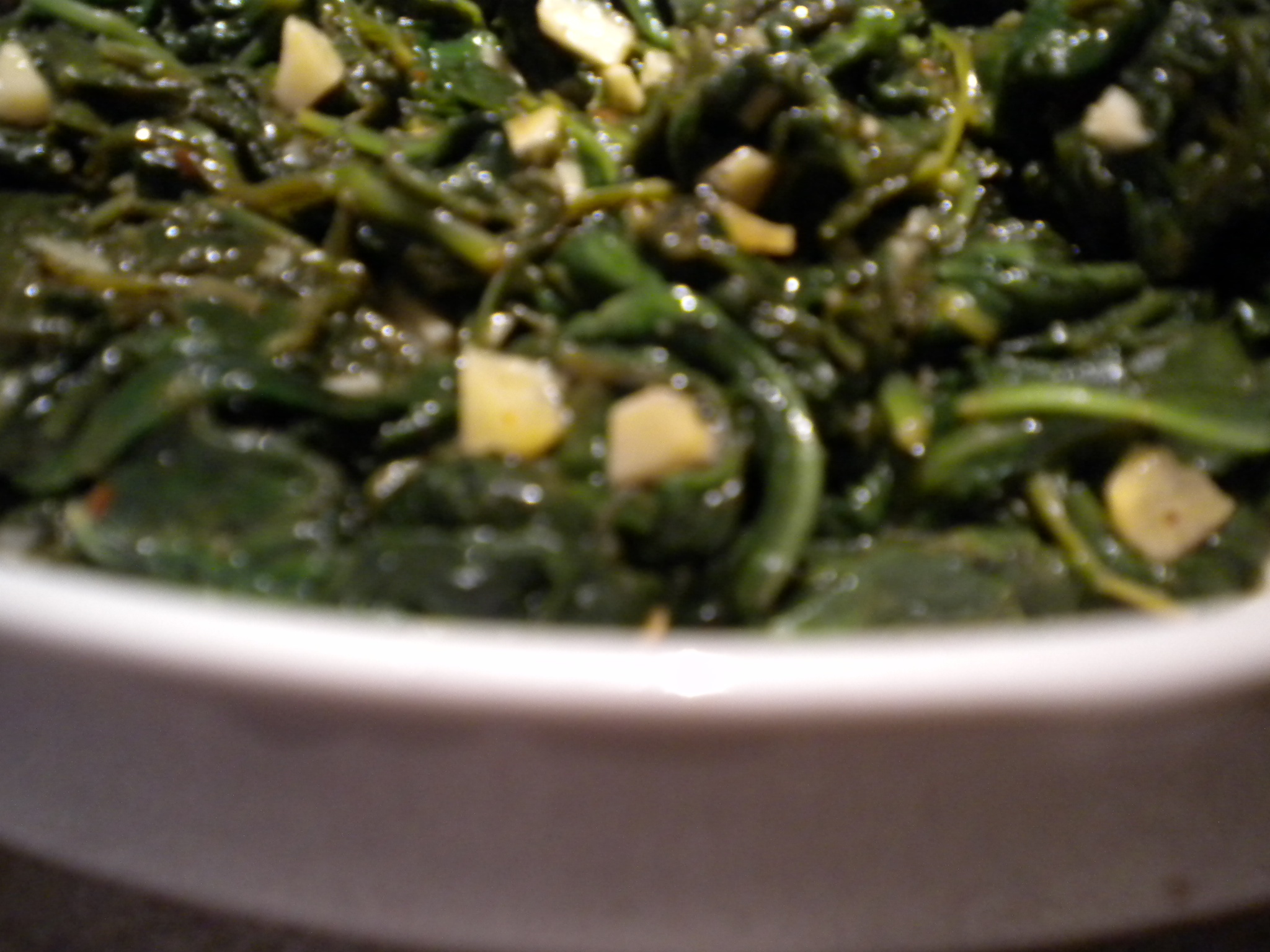 Easy Weeknight Lemony Garlic Spinach