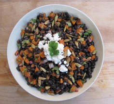 Black-bean-and-roasted-squash-salad