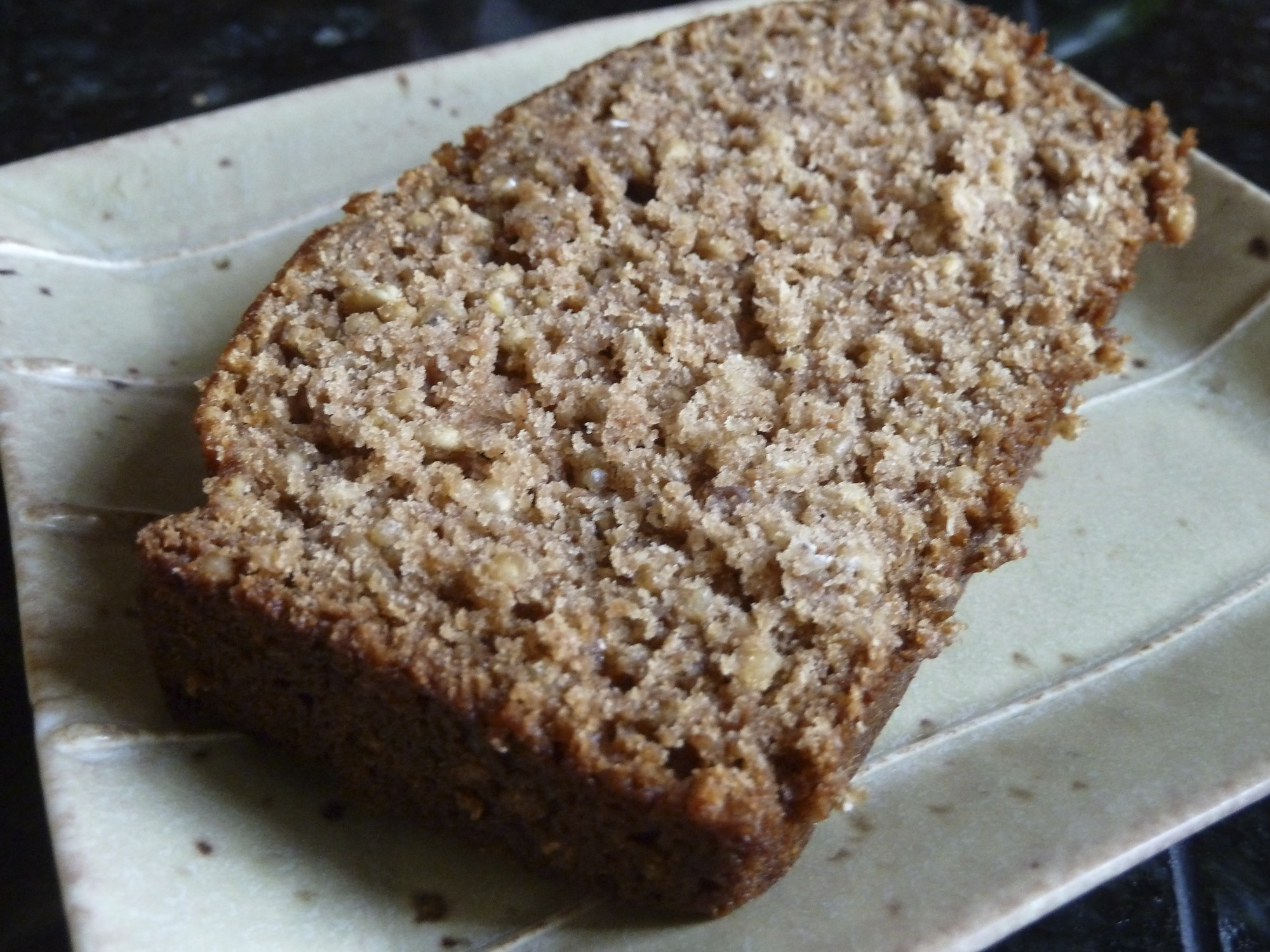 Spiced Applesauce and Oat Bread