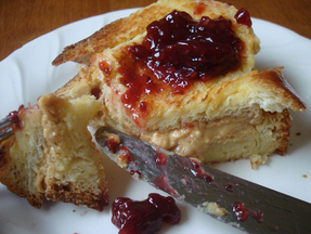 PB&amp;J French Toast