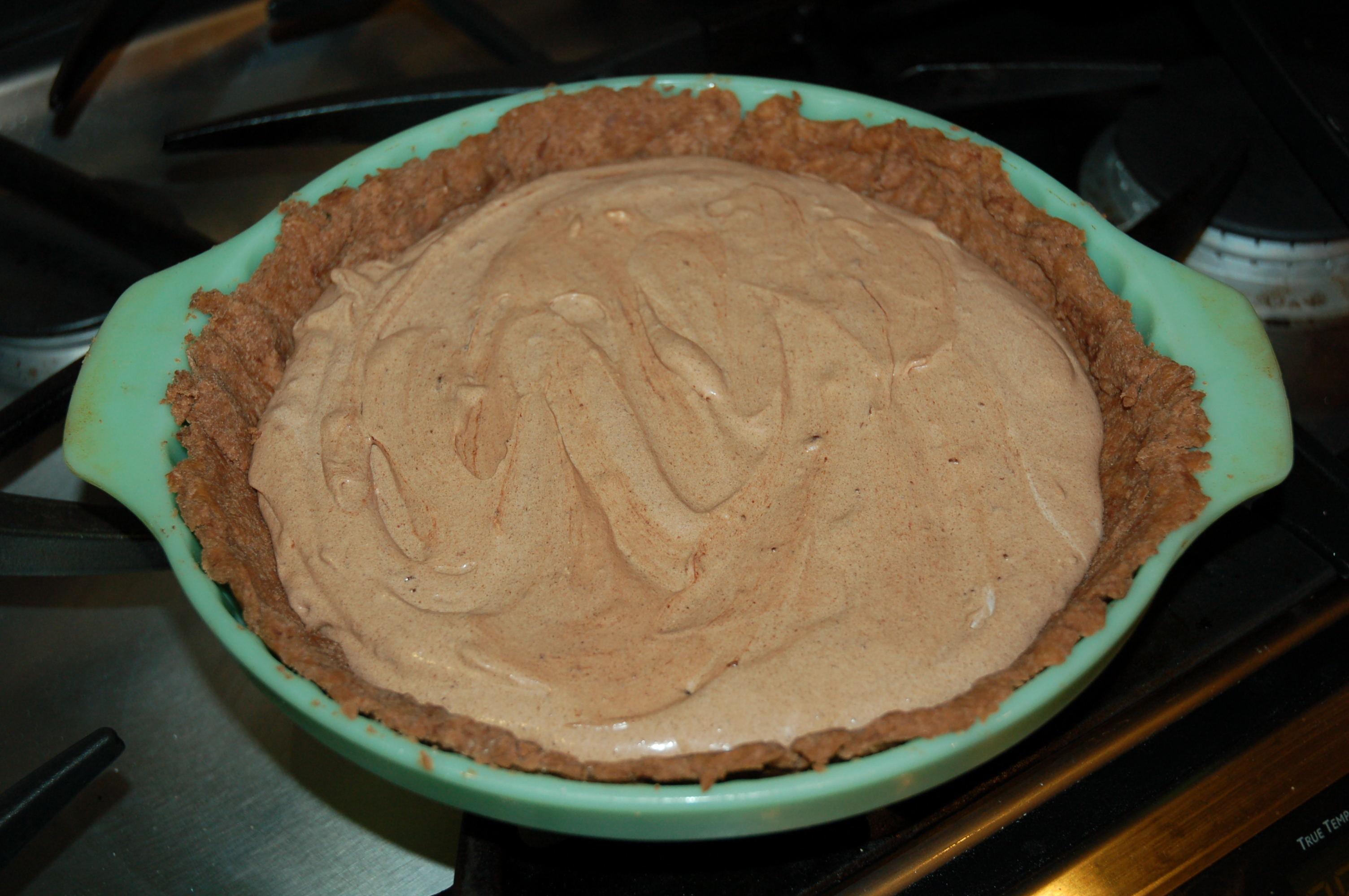 Aunt Da&#x27;s French Silk Chocolate Pie