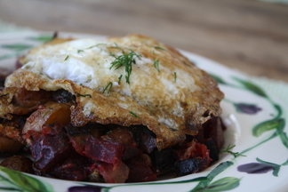 Red, White, and Blue Flannel Hash