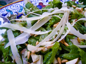 Irresistbly Sweet: Pear & Pine Nut Salad with Honey Vinaigrette