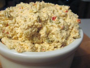 Spicy Chevre Pimiento Cheese