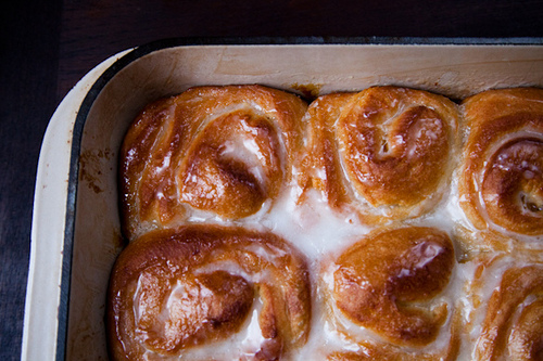 Orange Scented Olive Oil Sticky Buns