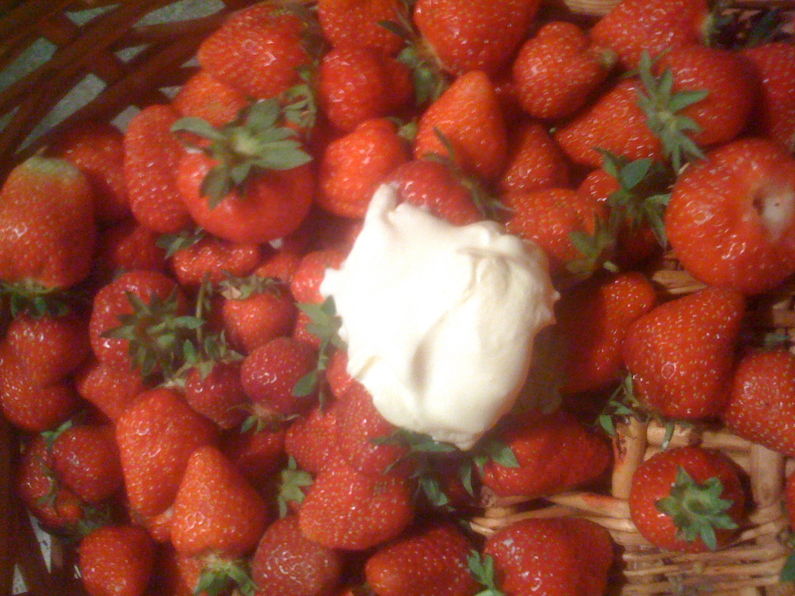 Strawberries & Whipped Cream