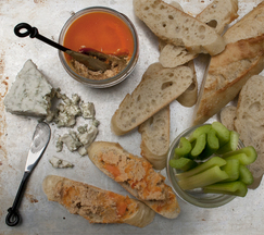 Buffalo Chicken Rillettes