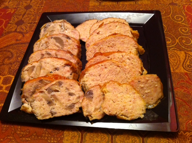 Chicken Galantine or Pate de Campagne Asian- Stile