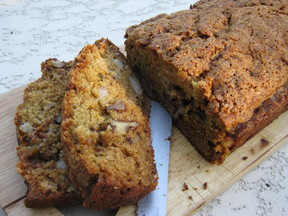 Walnut and Pear Bread with Brown Butter Sage