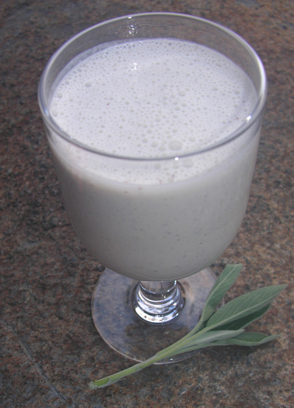 A winter lassi