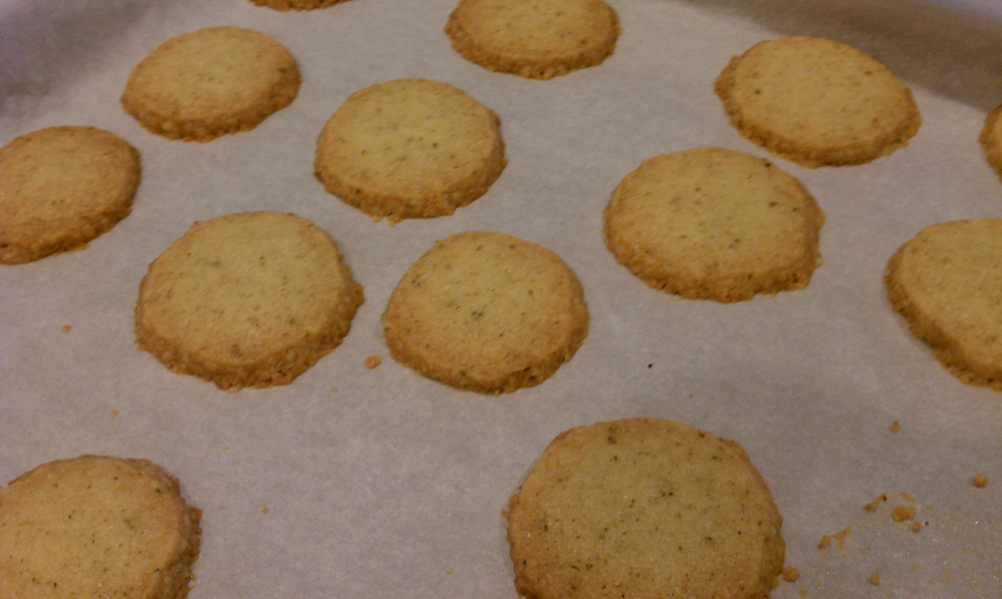 Walnut Sage Shortbread