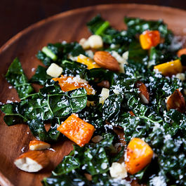 Northern Spy's Kale Salad by NanciKnits