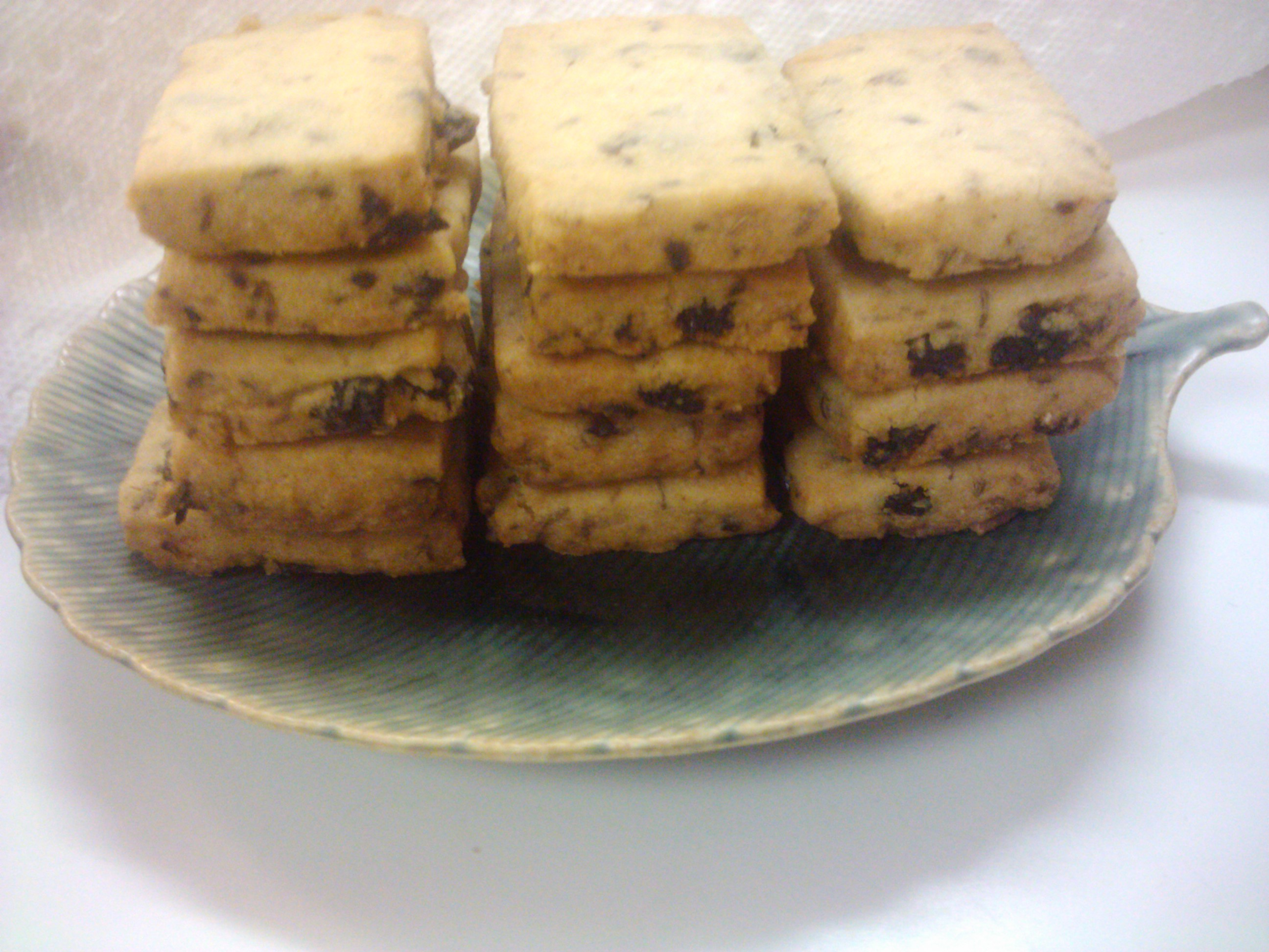 Currant-Caraway Shortbread