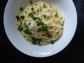 pasta with cheesy lemon cream sauce