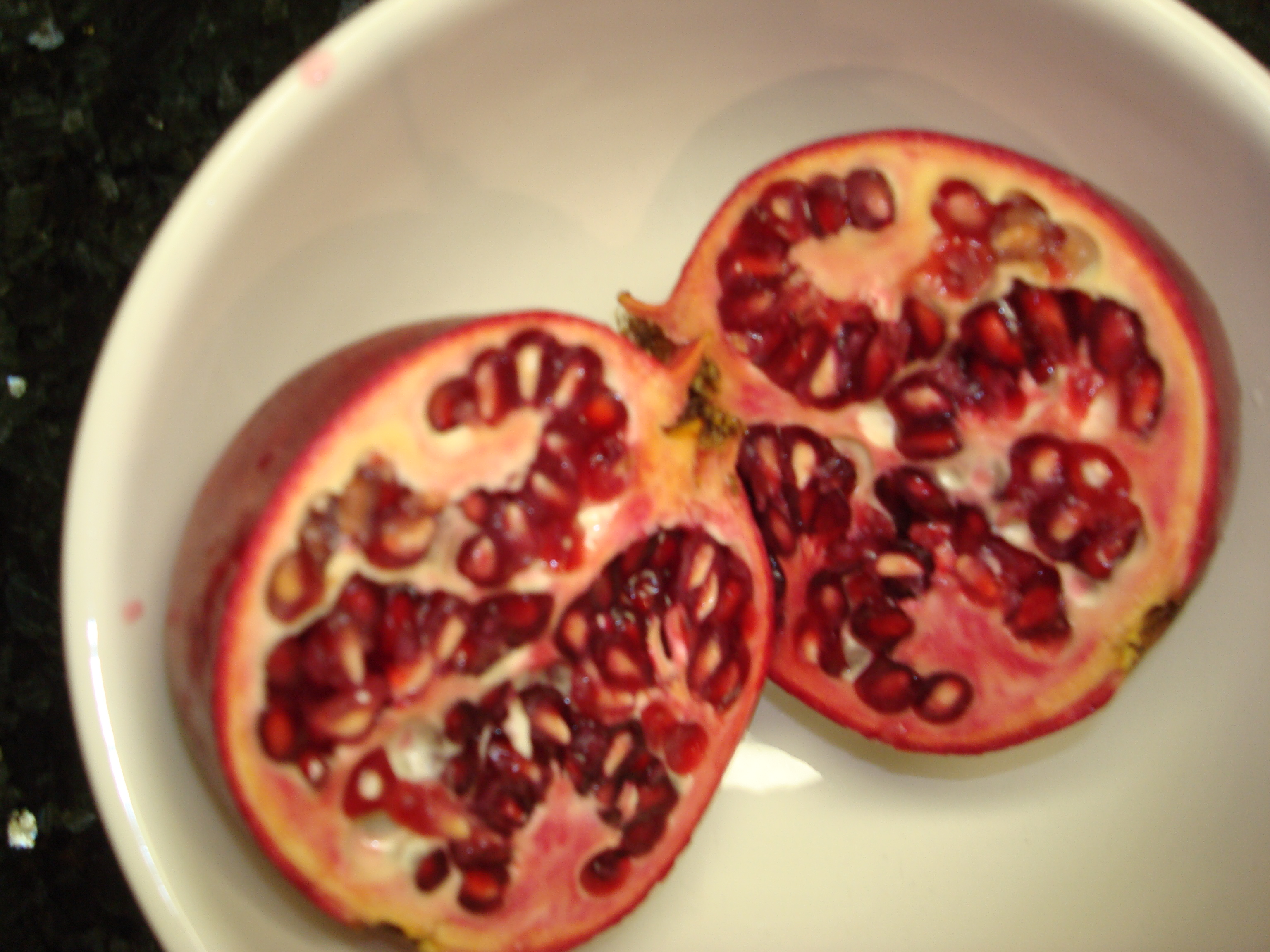 Pink Grapefruit, Pomegranate, &amp; Mche Salad with Lemon-Ume Vinaigrette