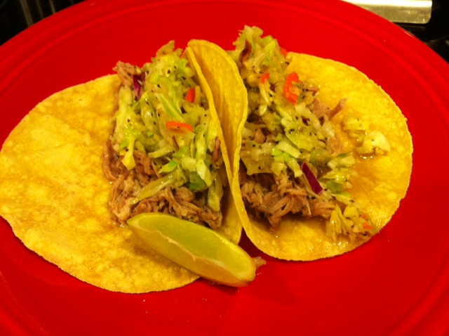 Citrus Pulled Pork Tacos