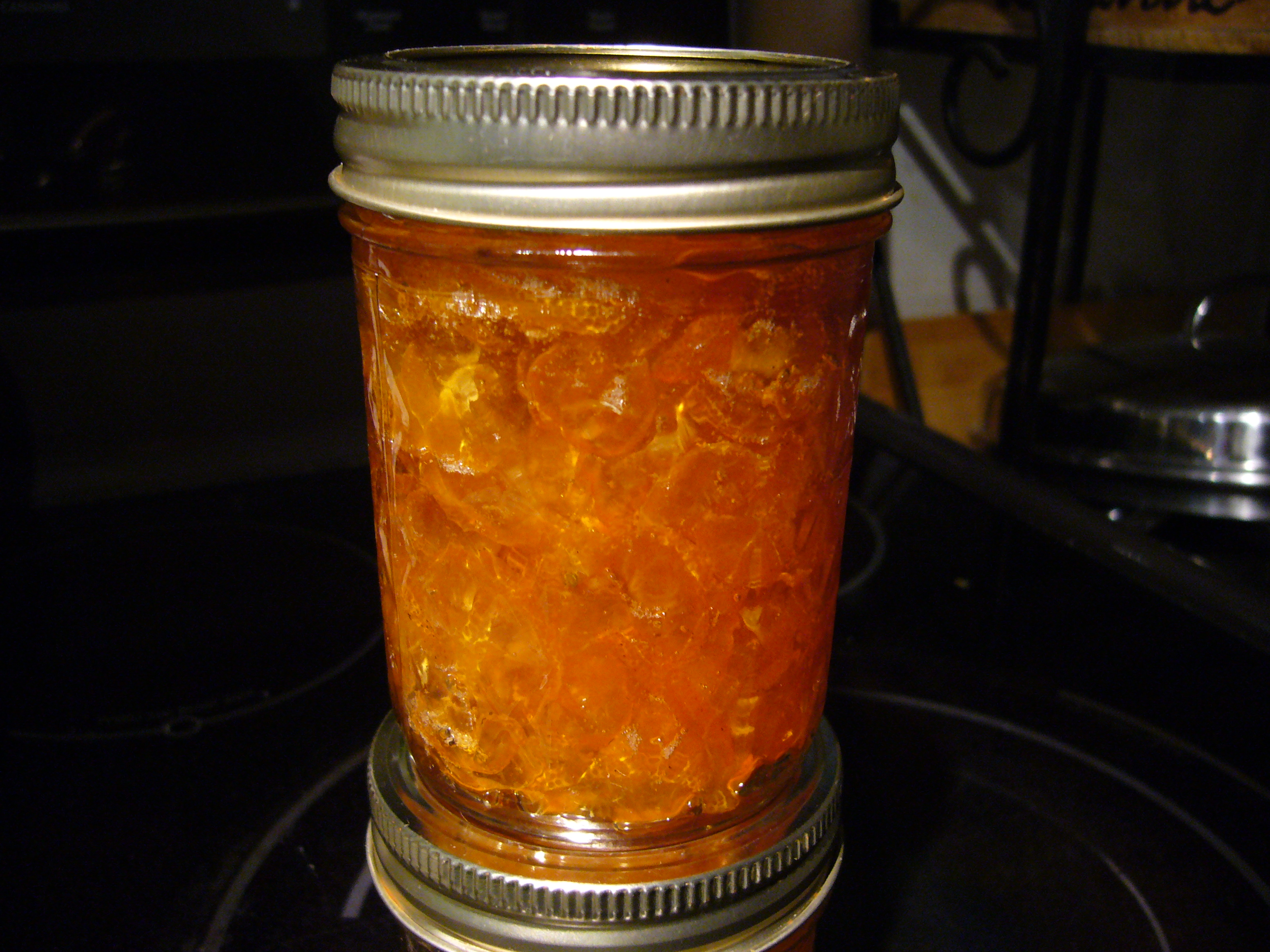 Fragrant Kumquat Marmalade