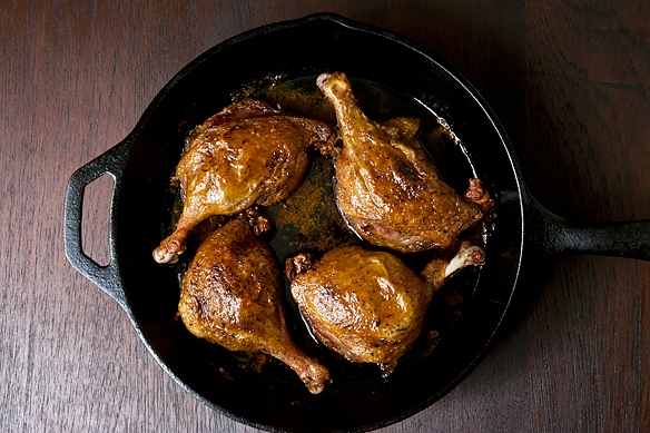 Melissa Clark's Really Easy Duck Confit