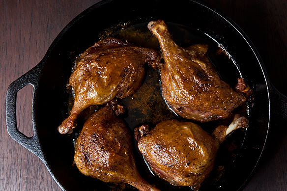 duck confit