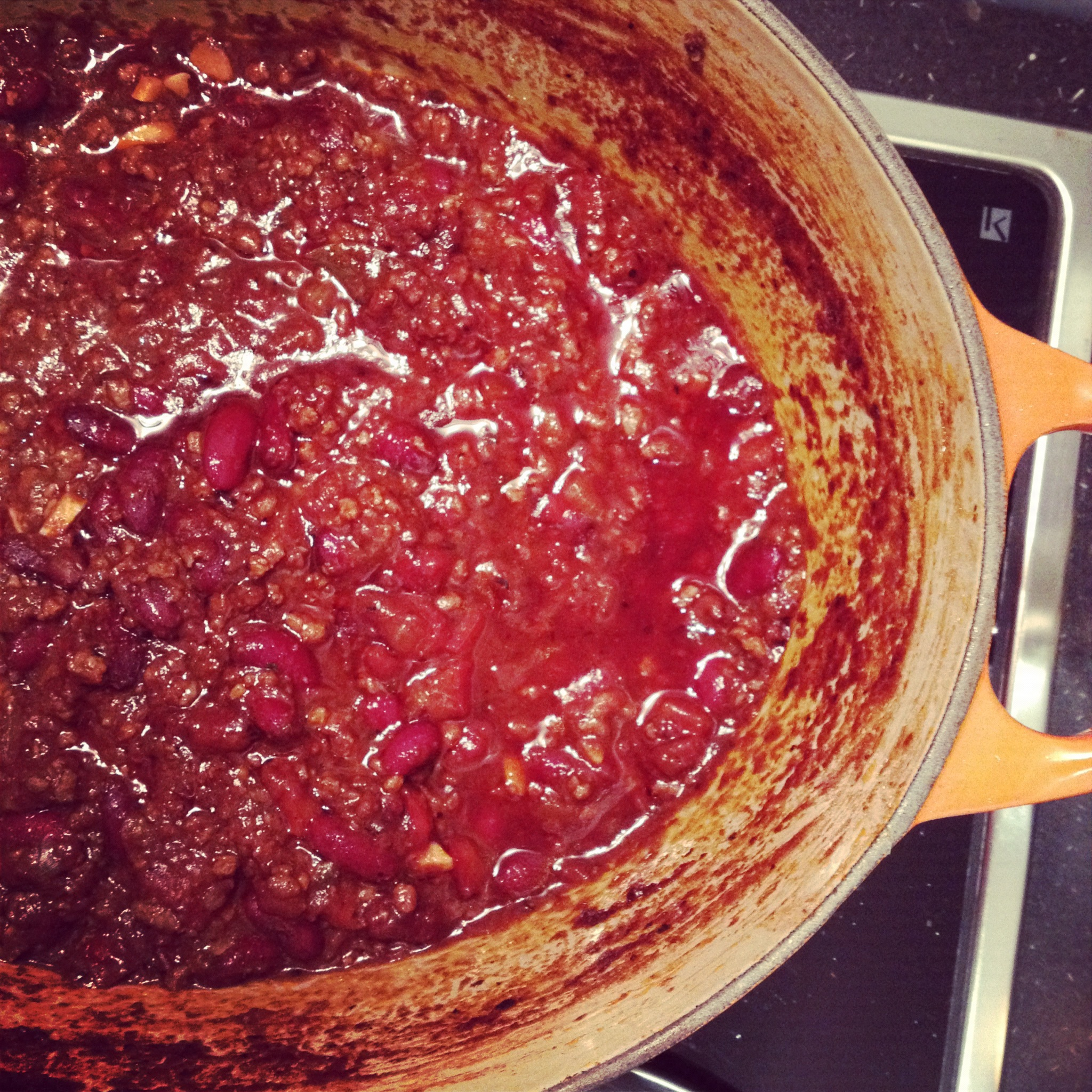 the perfect tv dinner chili con carne