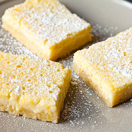 Lemon Ricotta Bars by Outcast