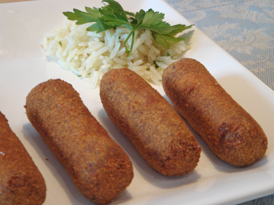 Meat Croquettes with Turkey Leftovers