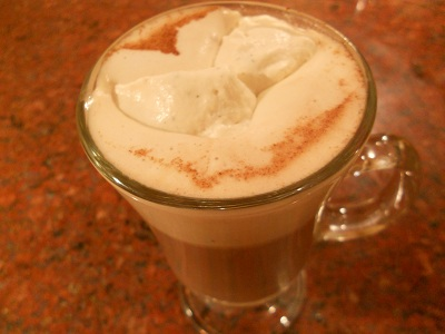 Cardamom Hot Chocolate with Cardamom Whipped Cream