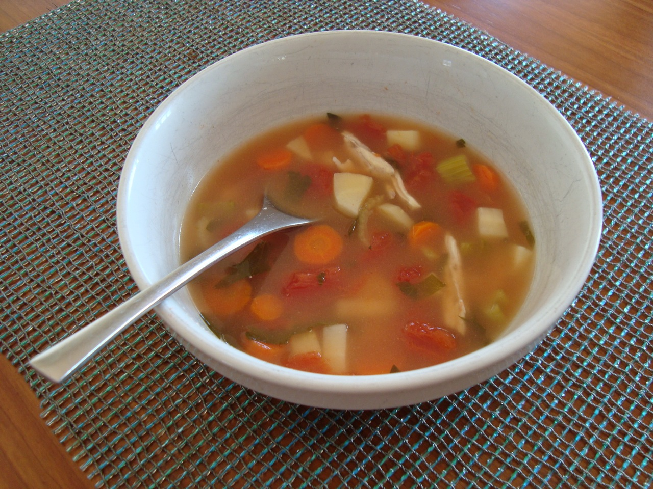 Delicate Chicken Soup