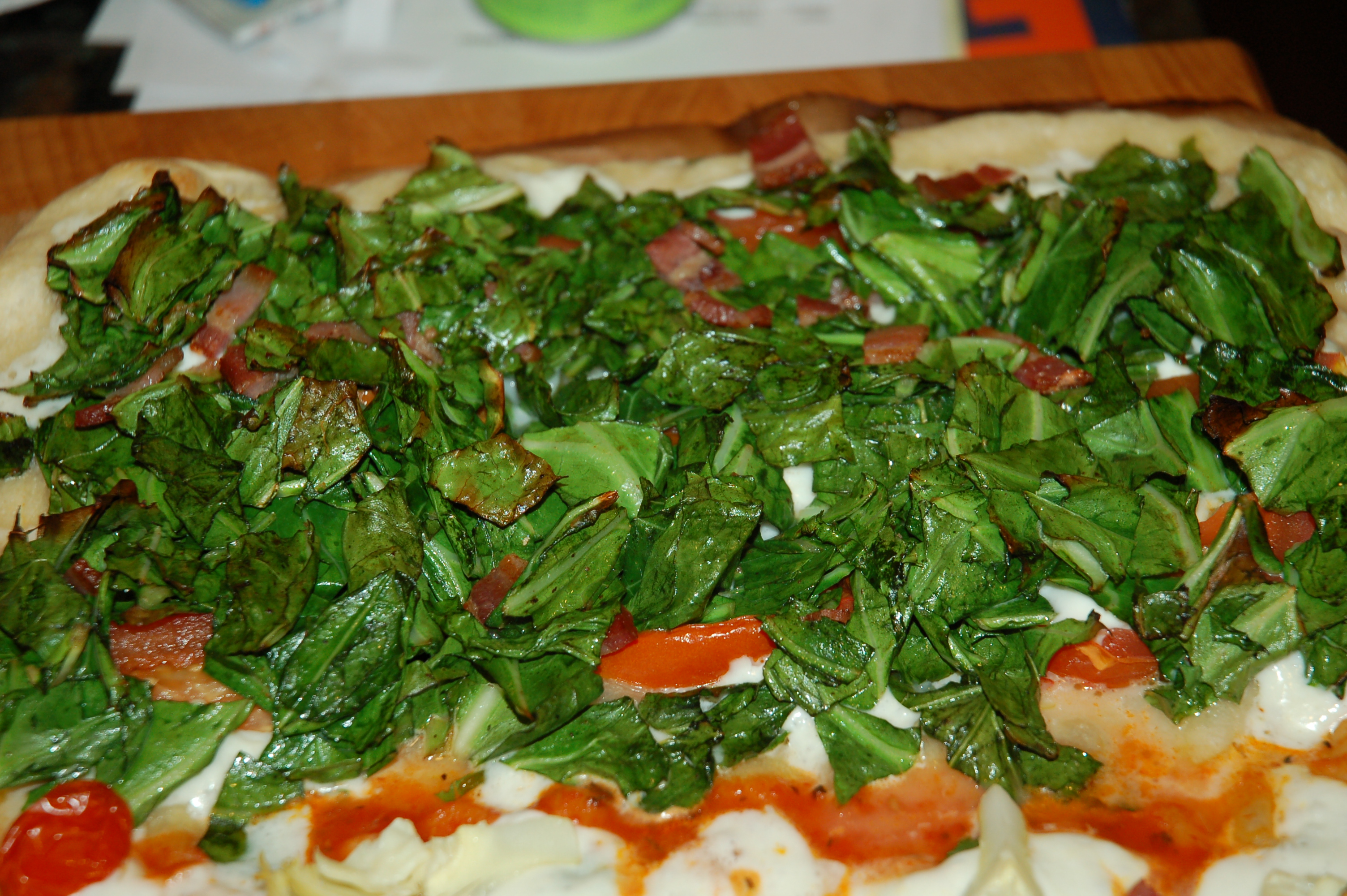 Southern Greens Pizza