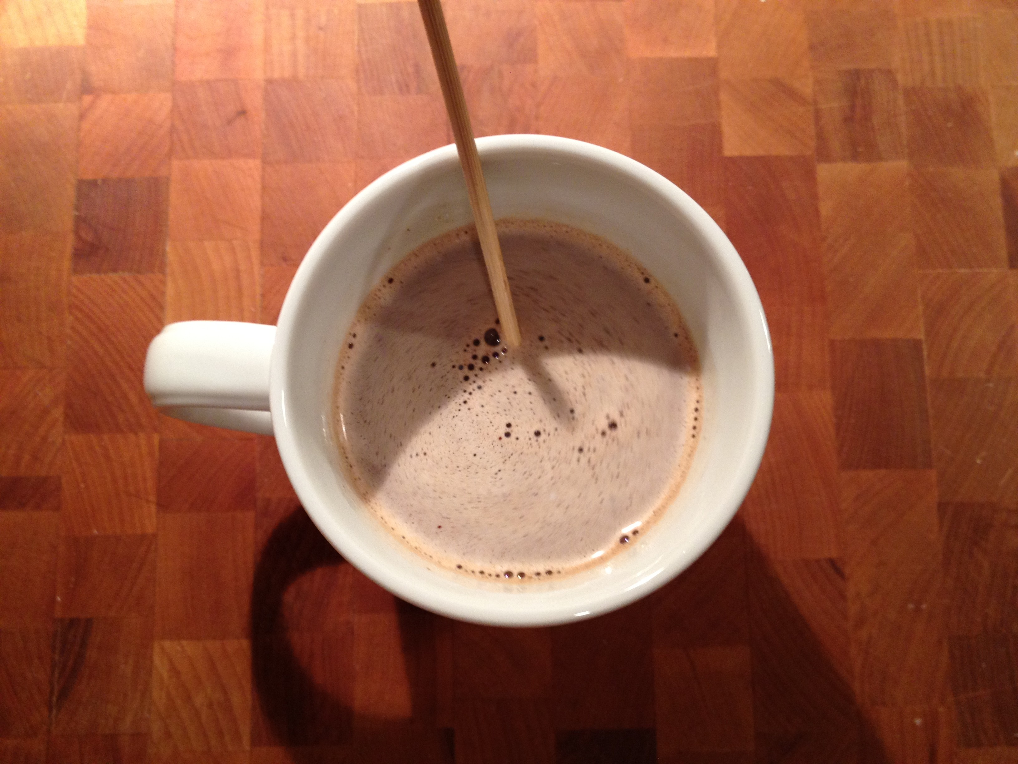 &quot;Tingling&quot; Truffle Hot Chocolate