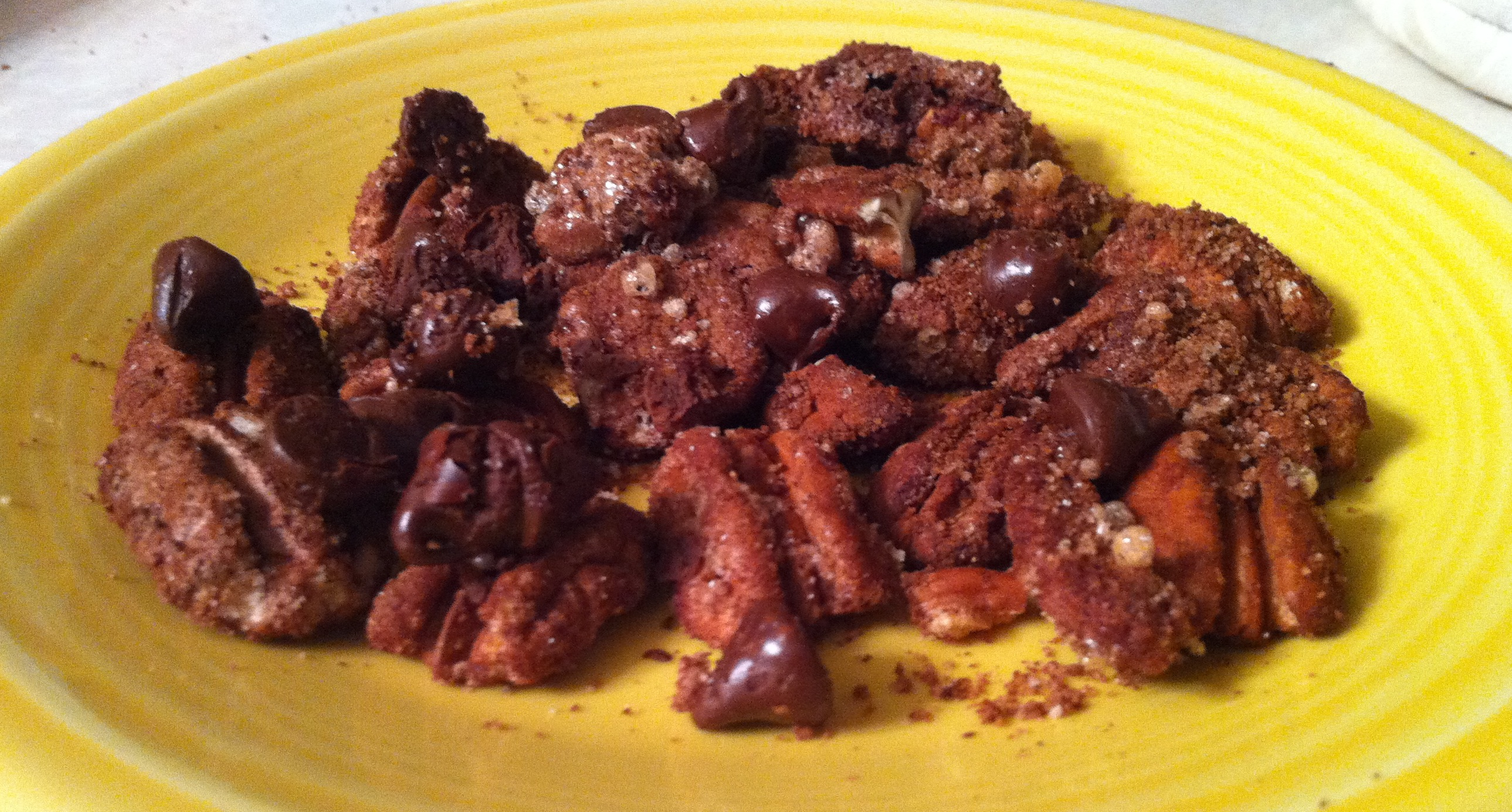 Chocolate-Spiced Pecans