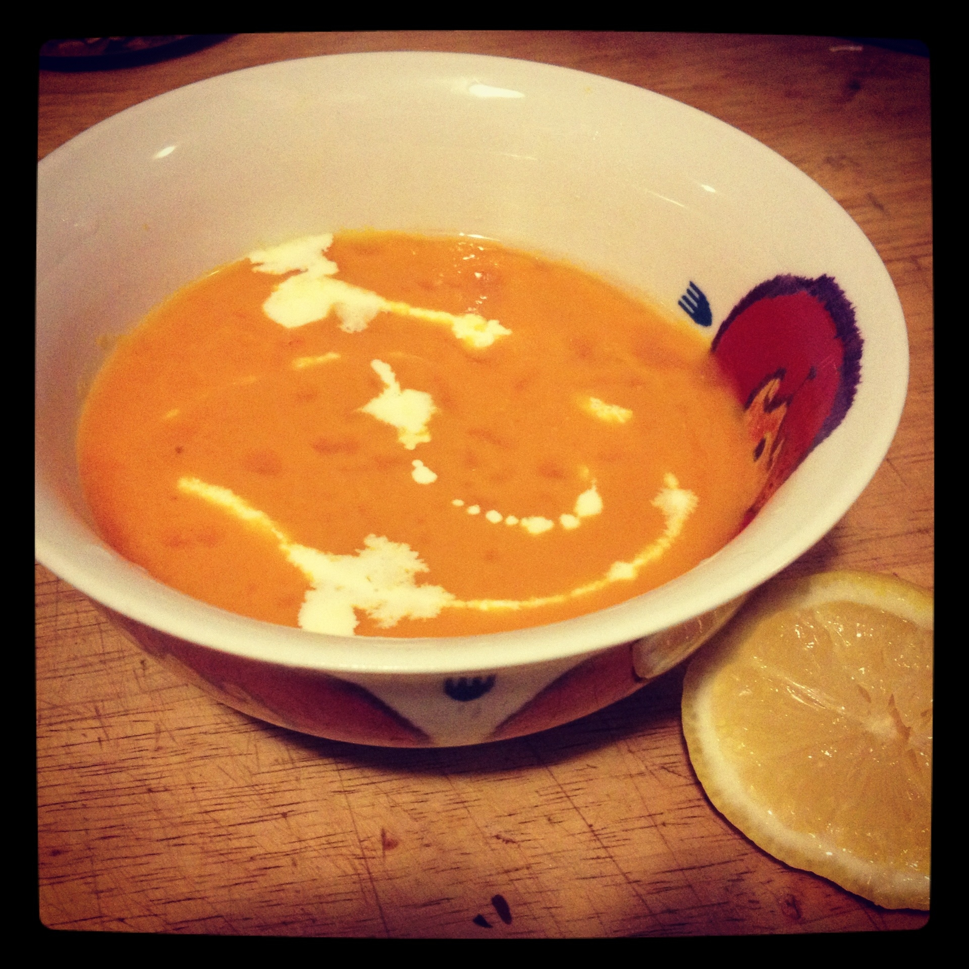 Rejuvenating Pure Carrot Soup