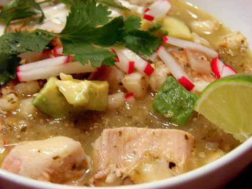 turkey chile verde recipes dishmaps turkey pozole verde recipe on ...