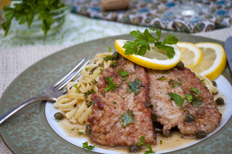 Lemon and Thyme Grouse Piccata
