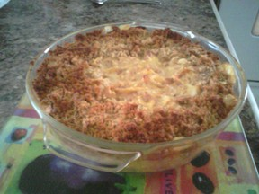 OTT Tuna  Cheesy Casserole