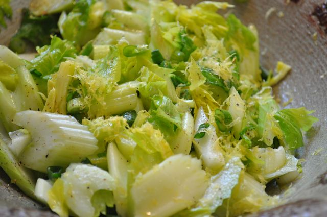 citrus celery salad