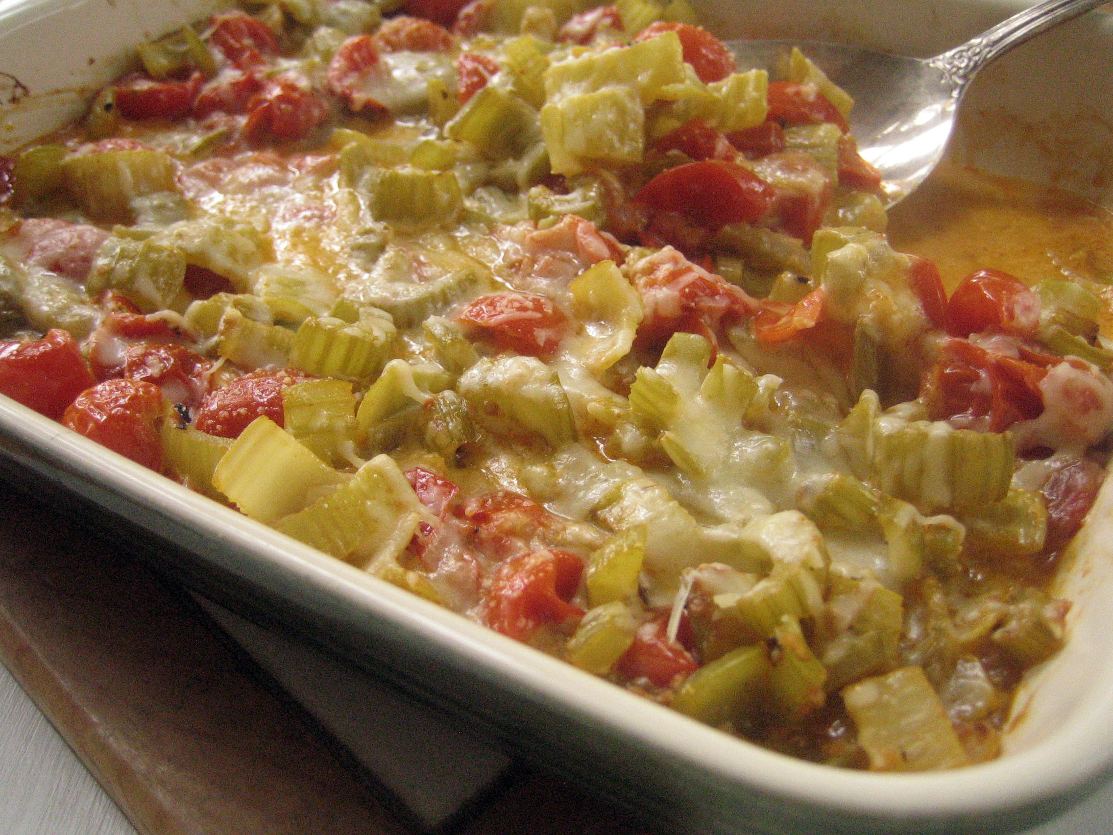 Celery Gratin