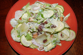 Spring Has Sprung Celery and Preserved Lemon Salad