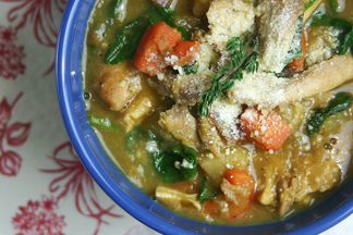 Hearty Chicken & Lentil Stew