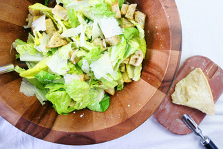 Mom's Lemony Caesar Salad