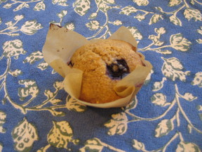 Blueberry and Flax Munchkin Muffins