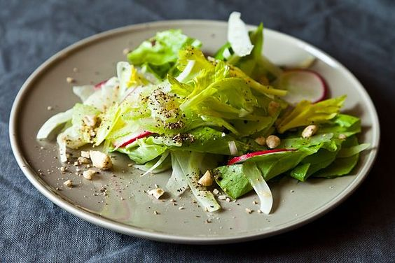 Shaved Fennel and Celery Salad