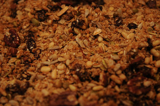 Travis Post's Brown Rice and Granola Power Breakfast