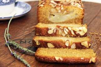 Pear, Almond and Maple Loaf