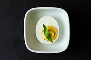 Virginia Willis&#x27; Deviled Eggs