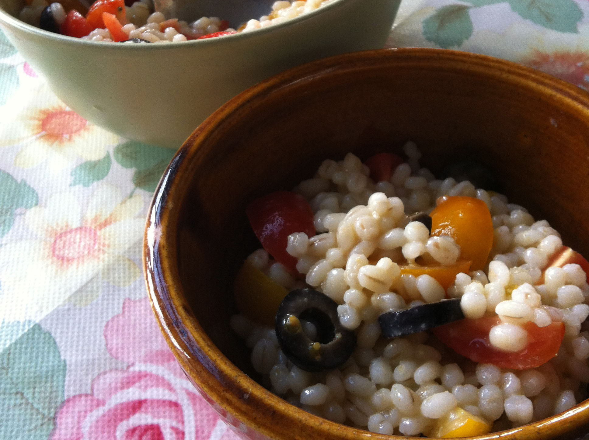 Summer Pearl Barley Salad