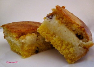 Cranberry &amp; Custard Filled Cornbread 