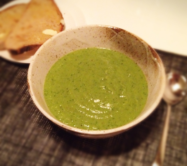 Blitzed Vegetable Soup