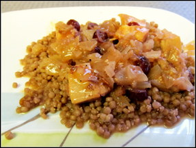 Cranberry Chicken Tagine